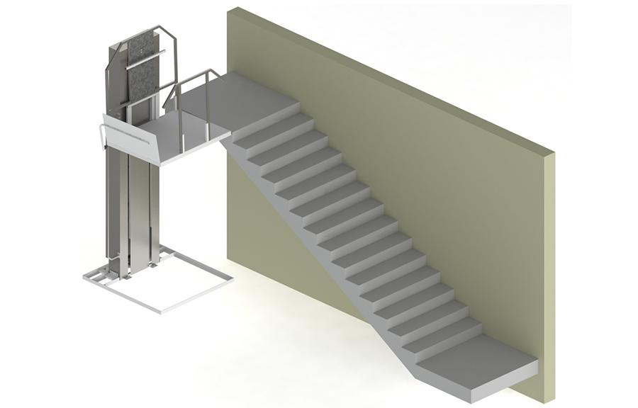 Вертикальный подъемник ДС-01-00 ПТУ